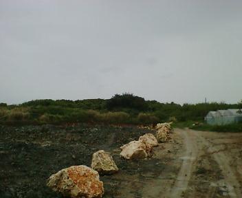 グスク東側からの遠景