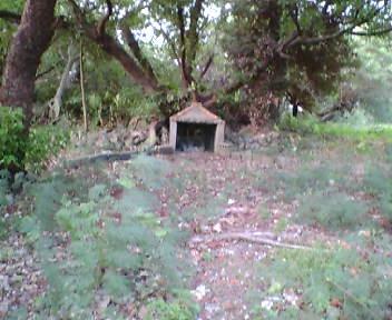 グスク内の拝所