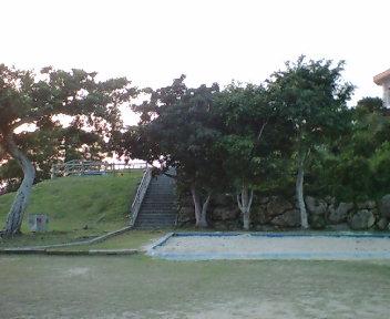 グスク跡の公園