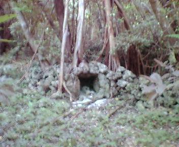 二の郭の拝所