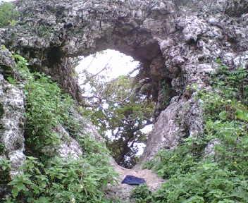 このグスクのシンボル的な城門
