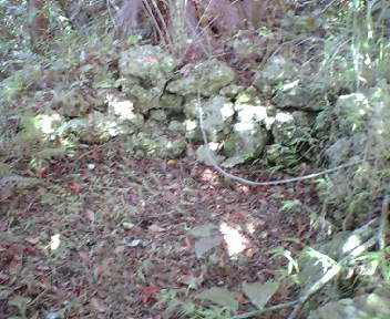 石積み遺構