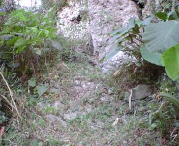 グスク内の石段