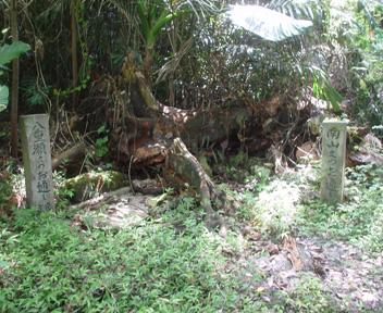 建物付近の拝所