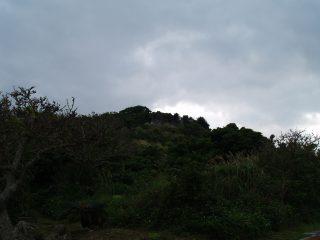 玉城グスク遠景
